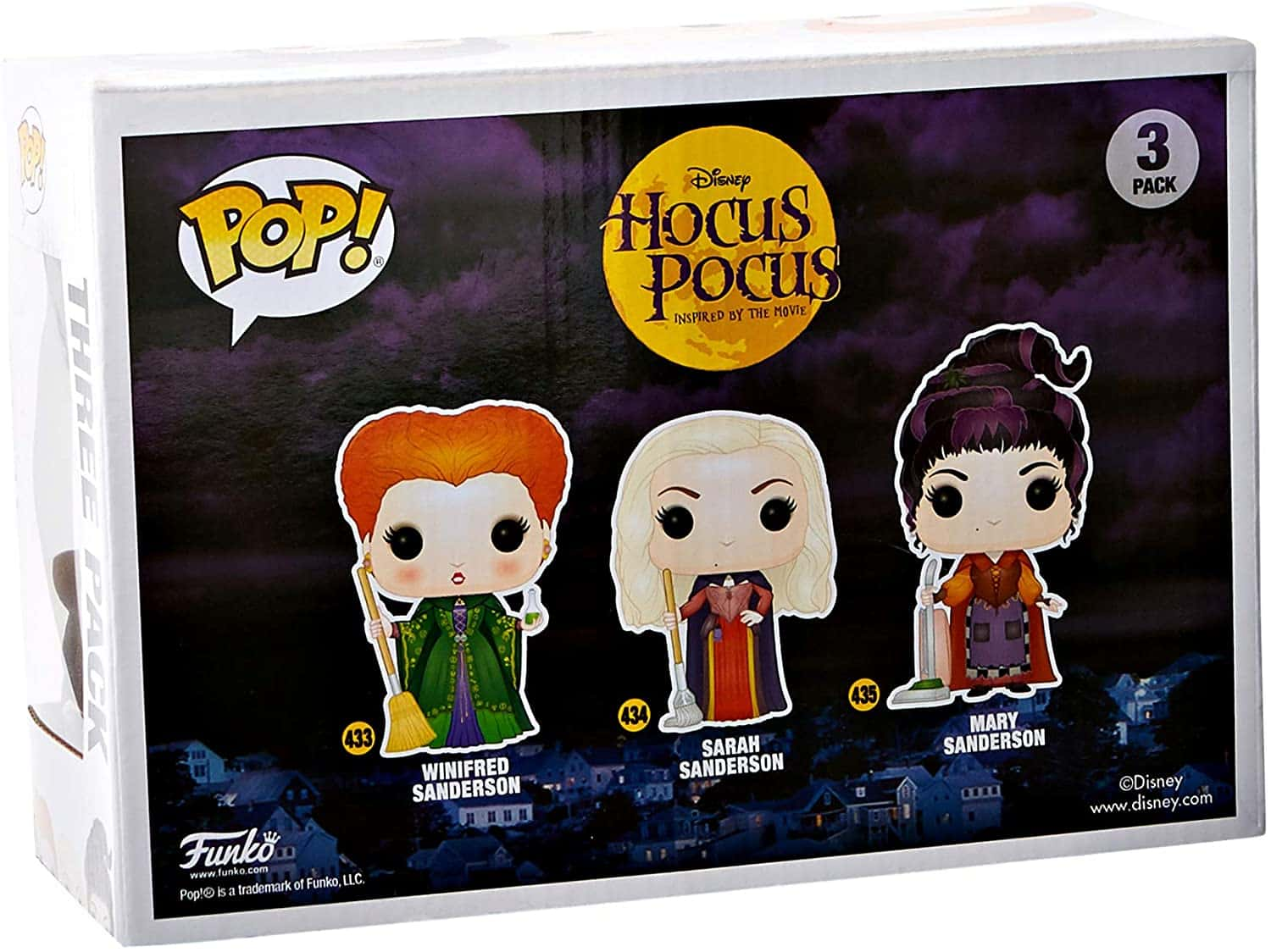 Mary Sanderson Flying Pop Hocus Pocus Vinyl-FUN49141-FUNKO